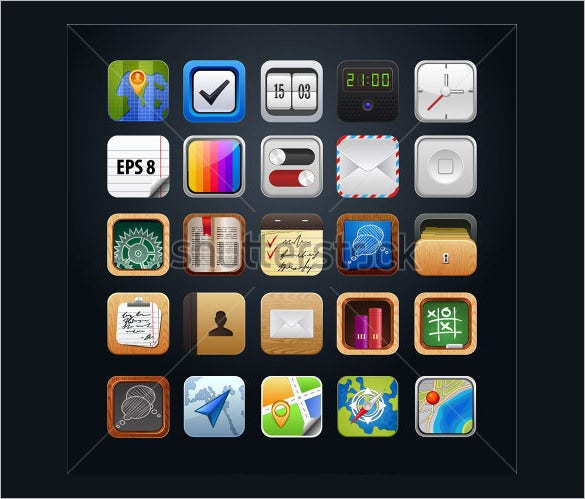awesome app vector icons