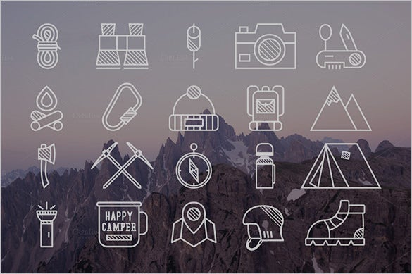mountain explorer app icons