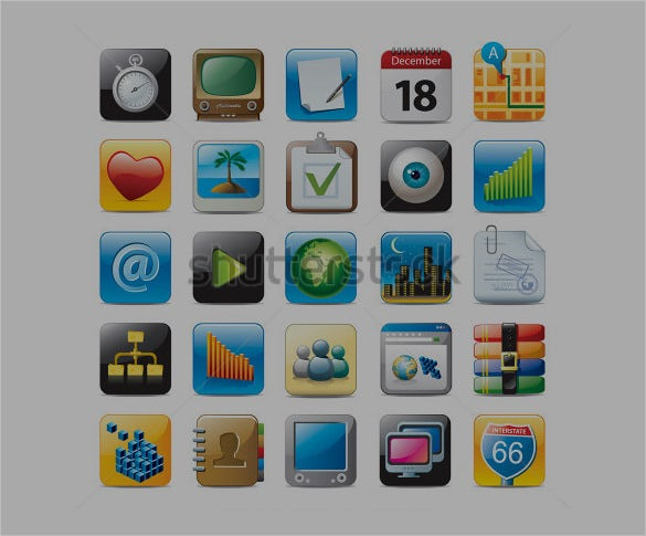 awesome multimedia app icons
