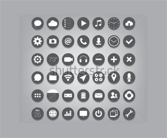 ui button app icons