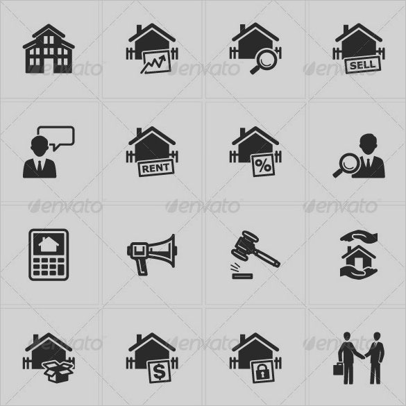 real estate app icons