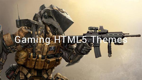 gaming html5 themes