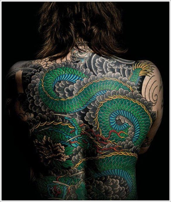 terrific dragon tattoo
