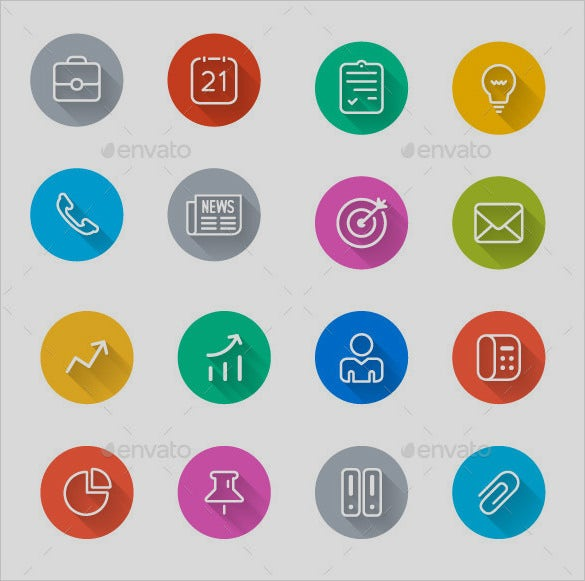 awesome business icons