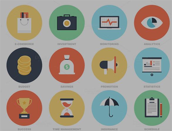 amazing business icons