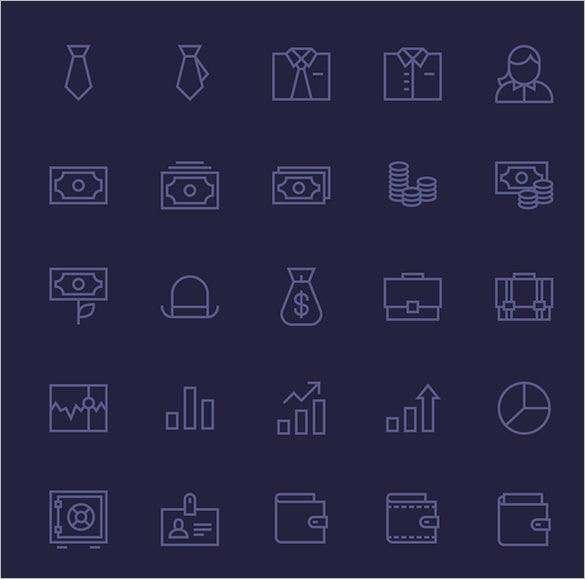 best business finance icons