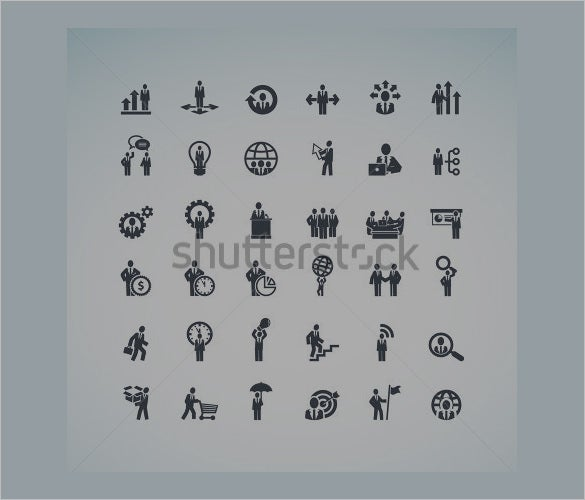 download business concept icons