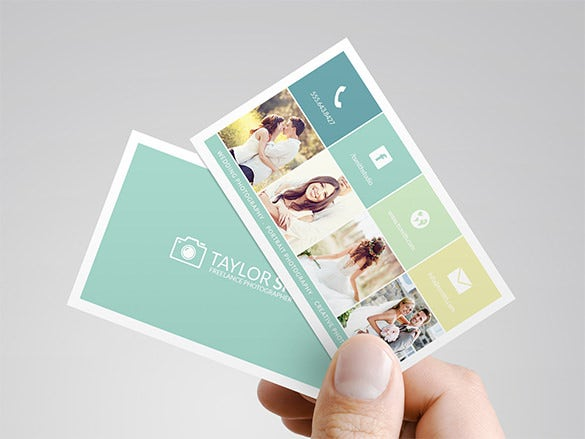 39 unique business card designs free premium templates using the help of the photography business card design template framing the exact photos cheaphphosting Images