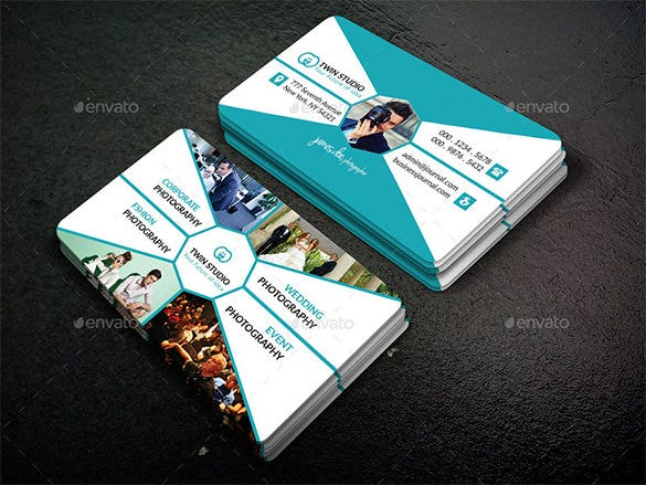 44+ Unique Business Card Templates - Word, PSD, AI, Pages