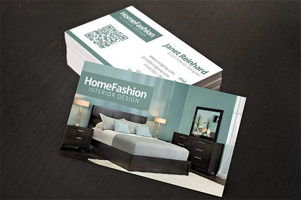 interior design premium business card download