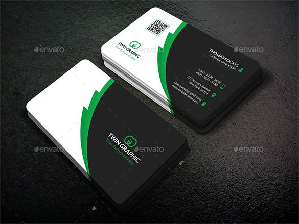 premium corporate business card design