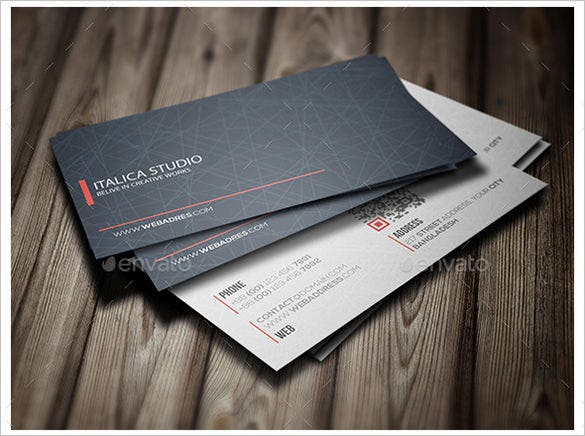 Professional Premium Business Card Design
