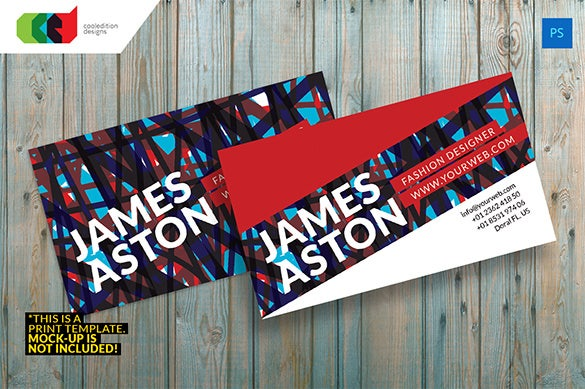 modern premium business card design