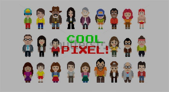 pixel art style