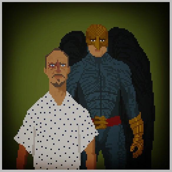 download movie pixel art