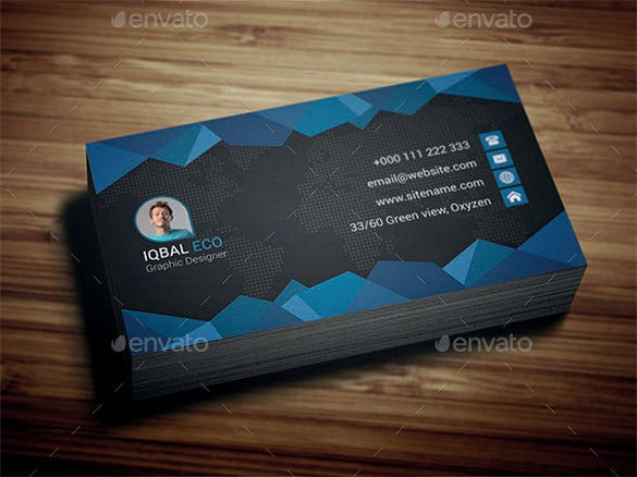 manager premium business card design
