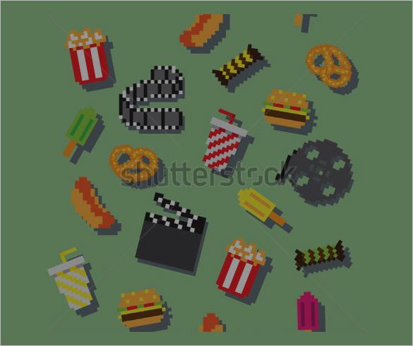 amazing vector pixel art