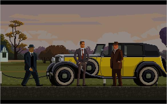 goldfinger pixel art
