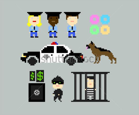 download amazing pixel arts