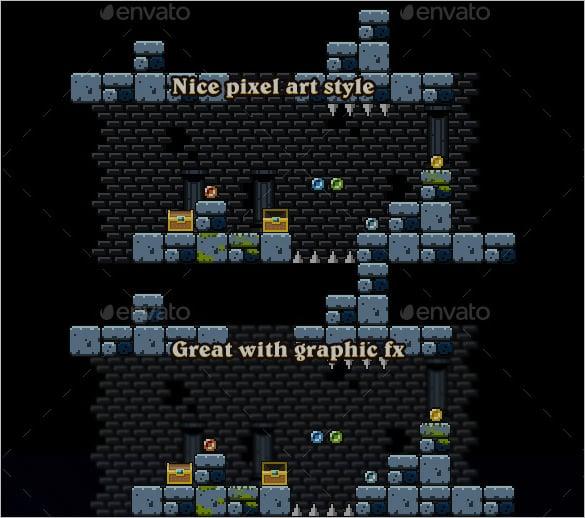 pixel art set