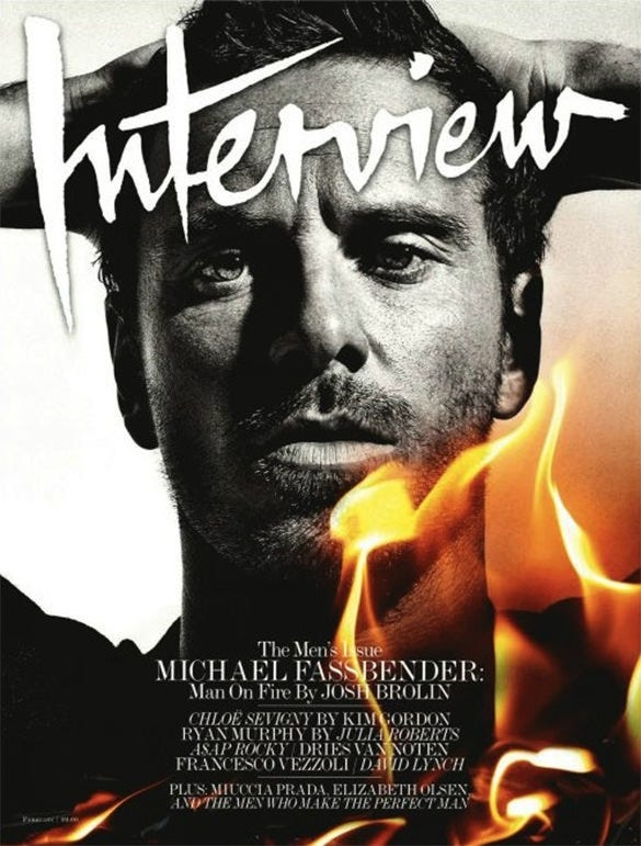 interview magazine cover design for you