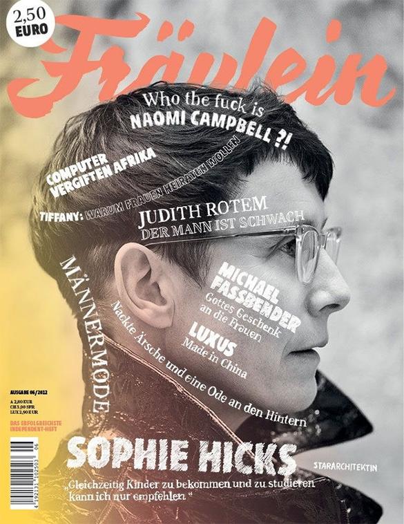 free fräulein magazine cover design