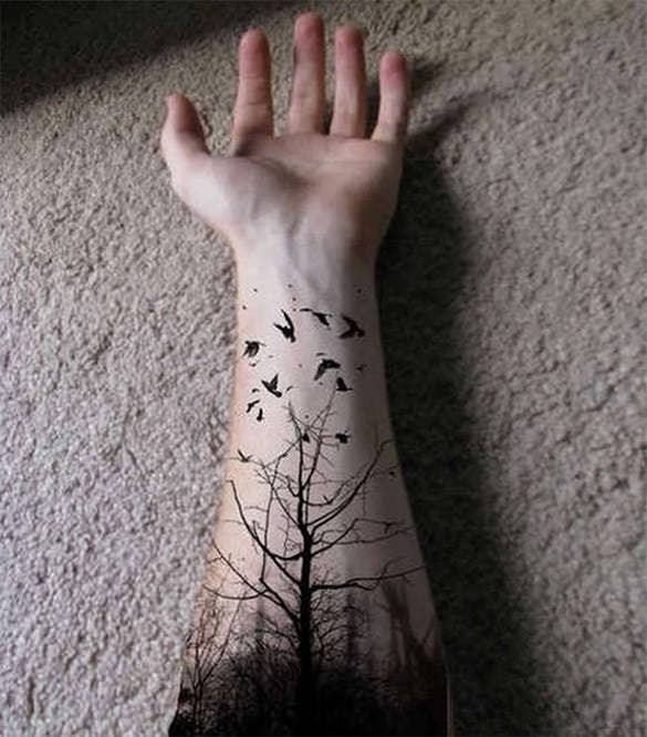 fantastic tattoo on hand for you