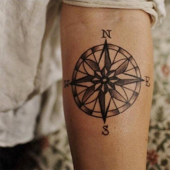 compass tattoo for you