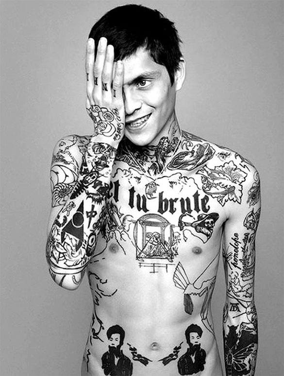 outstanding full body tattoo