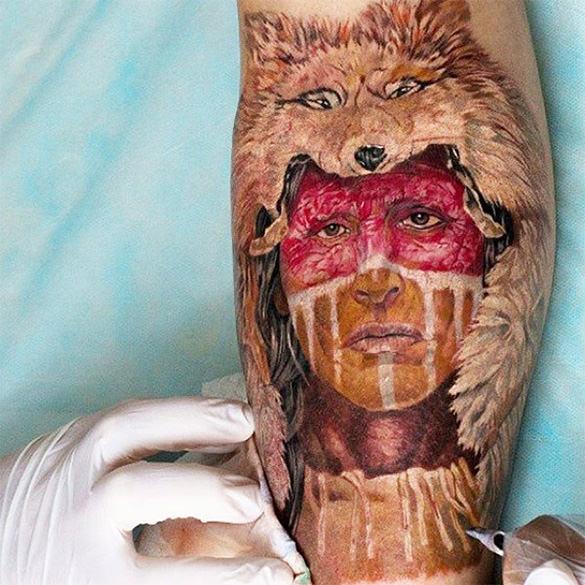 amazing creative tattoo ever seen