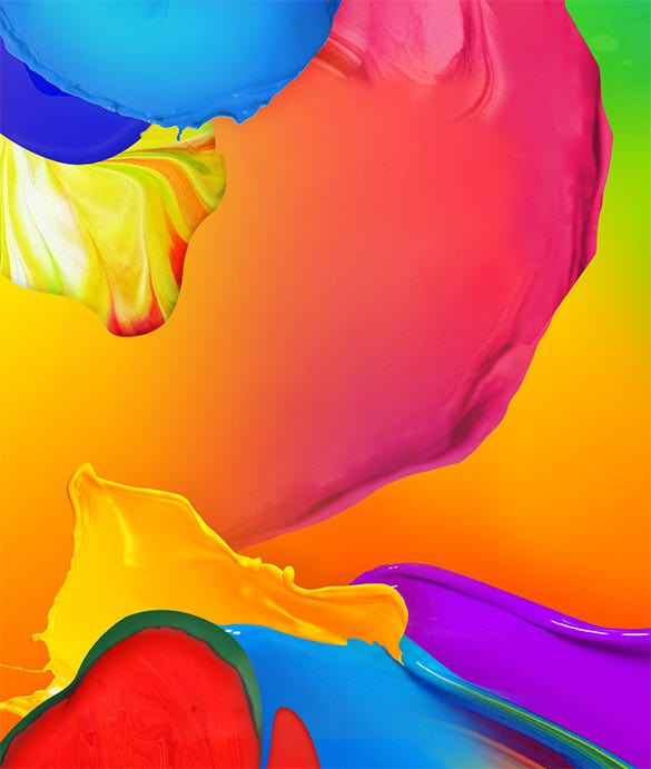 colourful xiaomi mi background
