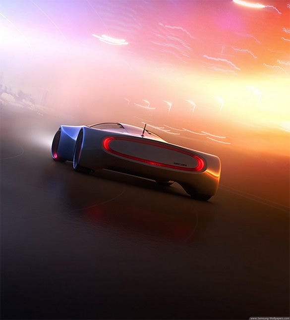 amazing car xiaomi mi background