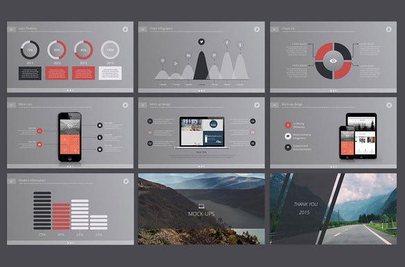 deepo cool keynote template download
