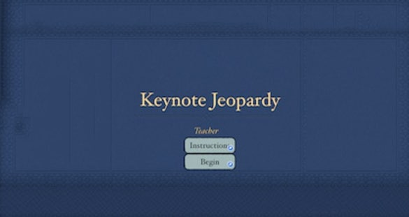 jeopardy template keynote