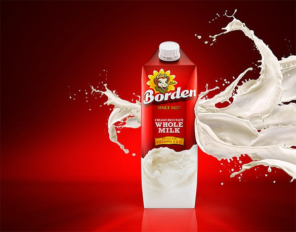 borden milk free advertisement