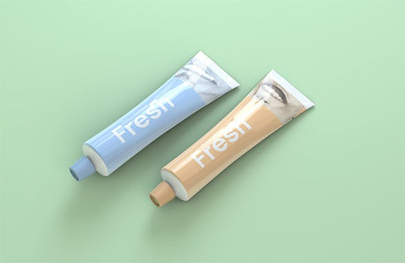 fresh toothpaste advertisement