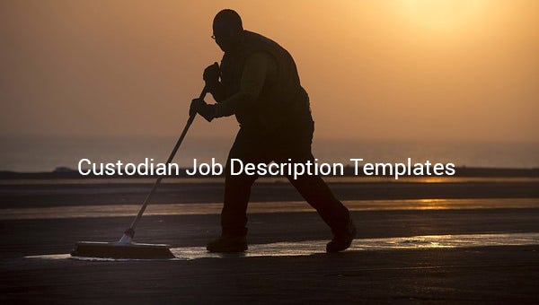 custodian job description template1