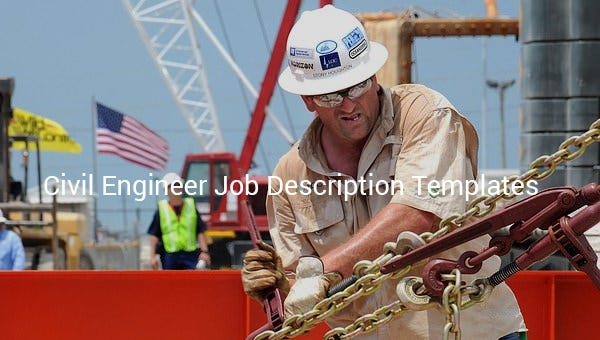 civil engineer job description template