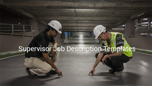 supervisorjobdescriptiontemplate