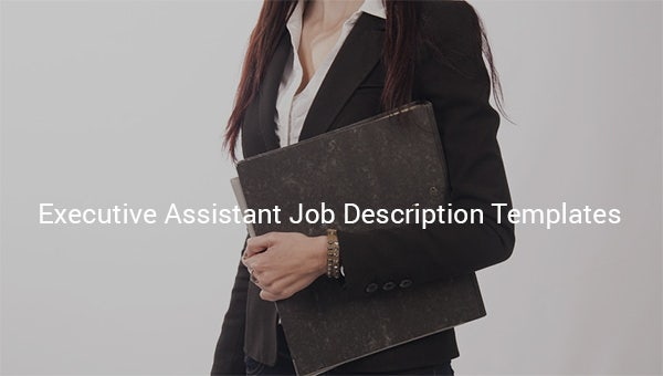 executiveassistantjobdescriptiontemplate
