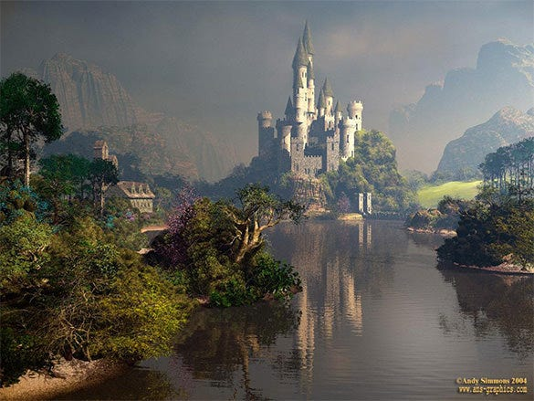 castle fantasy art design