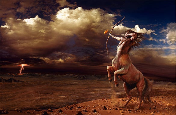 sagittarius fantasy art design