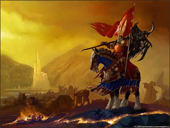 victory fantasy art design