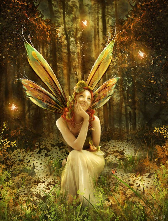 the fairies vale fantasy art
