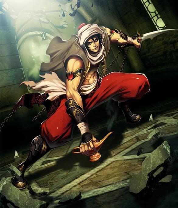 aladdin fantasy art