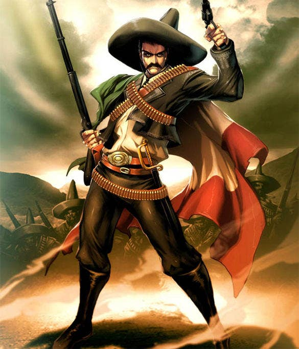 emiliano zapata mexican fantasy art