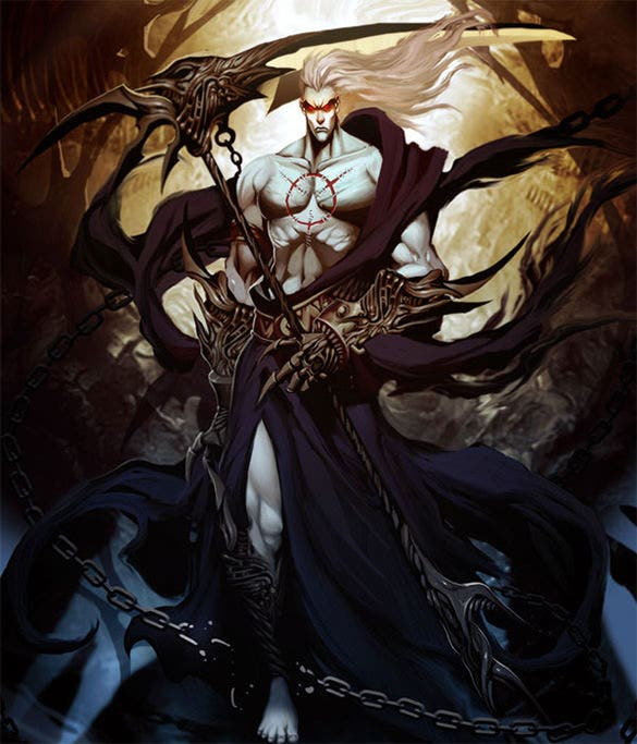 hades underworld fantasy art