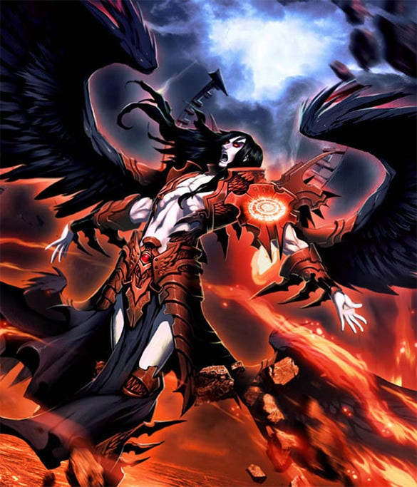 lucifer the devil fantasy art