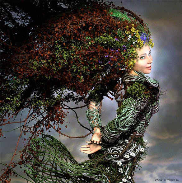 mother nature fantasy art for you