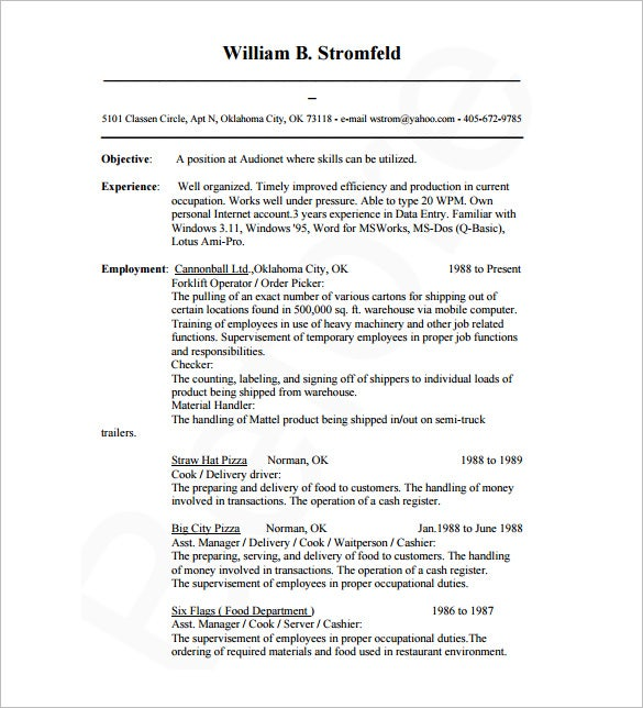 resume template database administrator dba sql sql